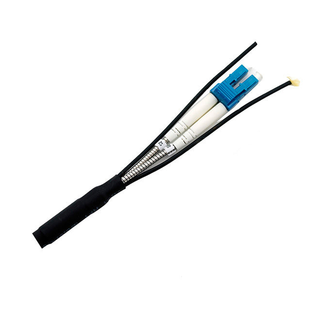 Tactical fiber cables with Waterproof PDLC / ODC connectors , CPRI patch cord for BBU