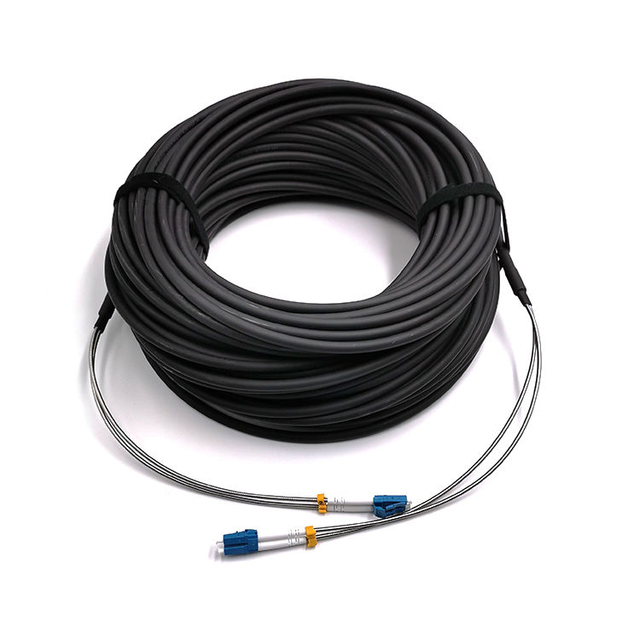 Armoured ODLC,PDLC, Waterproof Fiber Patch Cord , Fiber Patch Cable