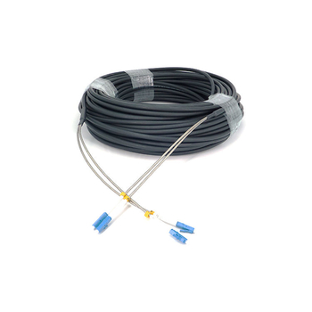 FTTA Outdoor CPRI Armored LC- LC SM Duplex Fiber Patch Cable 7.0mm