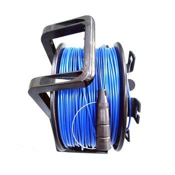 Portable Cable Reel with 12 Core Waterproof Outdoor Tactical Fiber optic cable